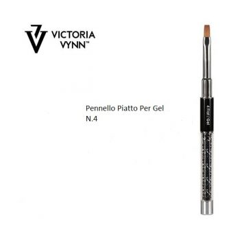 VV330692 pennello piatto per gel n.4
